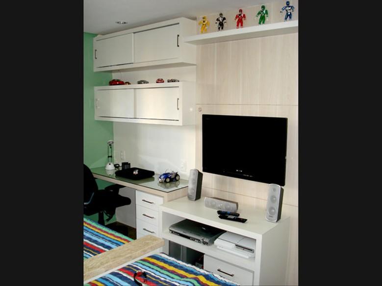 Quarto pequeno para duas crianças como decorar e ganhar espaço Casa GNT # Como Decorar Um Quarto Pequeno Para Duas Irmãs