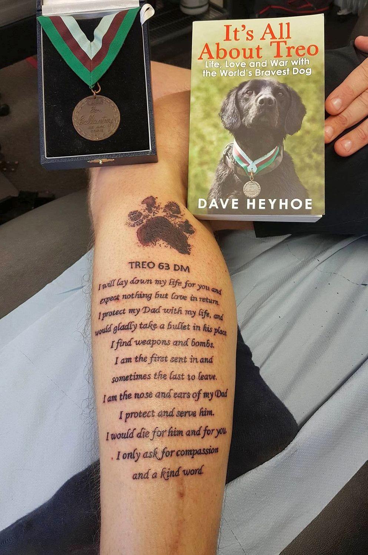 A homenagem de Dave a Treo