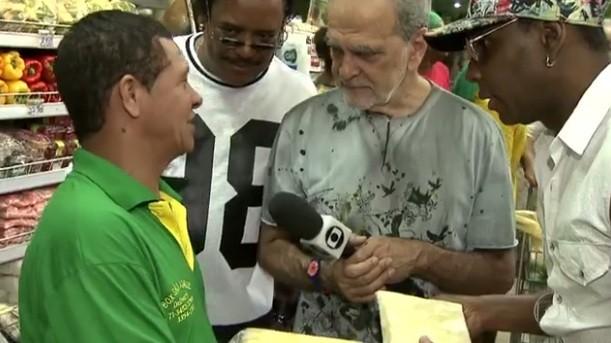 Maurício Kubrusly visitou a Ceasa do Rio Vermelho e o Mercado Modelo (Foto: Divulgação)