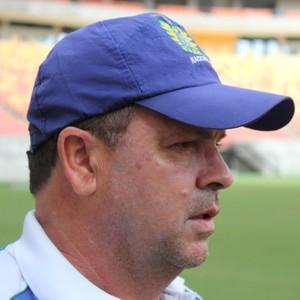 Heriberto da Cunha, treinador do Nacional (Foto: Matheus Castro)