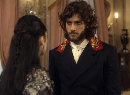 Joaquim procura Anna para fazer revelação