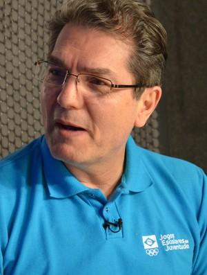 Edgar Hubner, diretor geral dos Jogos Escolares da Juventude (Foto: Rammom Monte / GloboEsporte.com/pb)
