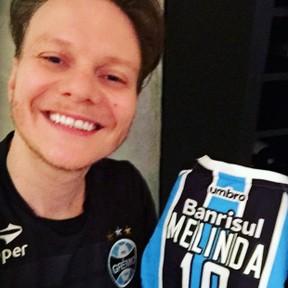 Michel Teló comemora título do Grêmio na Copa do Brasil (Foto: Instagram/ Reprodução)