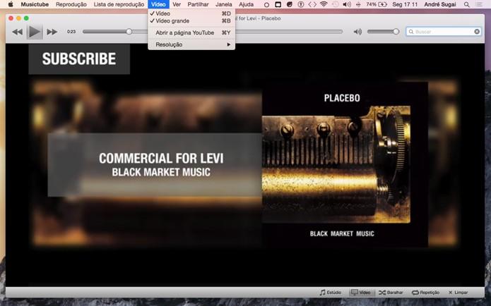 Opções de visualização de vídeo (Foto: Reprodução/André Sugai)
