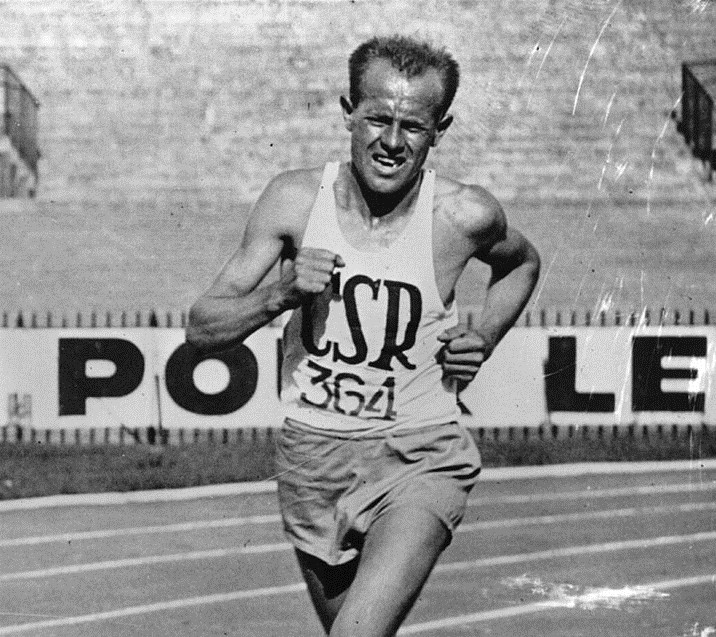 Emil Zatopek (Foto: Getty Images)