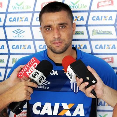 Gustavo Santos Avaí (Foto: André Palma Ribeiro/Avaí F.C.)