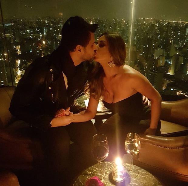 Nicole Bahls e o namorado (Foto: Reprodução/Instagram)