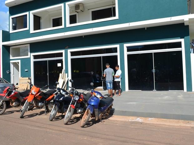 Novo Fórum Eleitoral de Cacoal, RO (Foto: Magda Oliveira/G1)