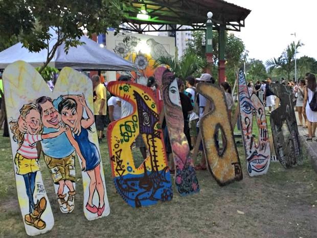Quarta edição do Malaba Jam Festival (Foto: Indiara Bessa/G1 AM)