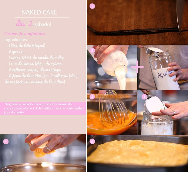 'Cozinha Prtica' - Ep. 14 - Dirio do Naked Cake - Dia 2 (Foto: Giovanna Nadruz)