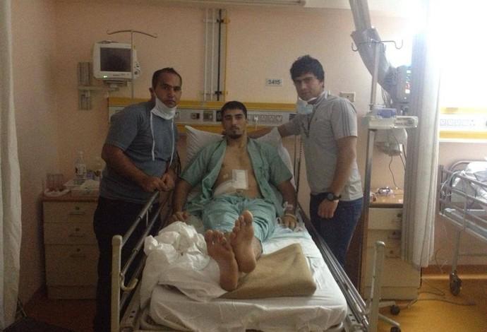 Cirurgia manteve a mãe de Sayed viva e saudável até hoje (Foto: Arquivo Pessoal)