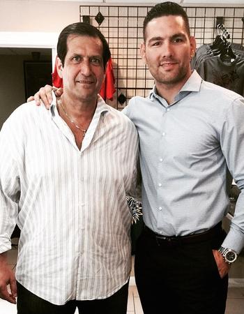 Chris Weidman, Ray Longo (Foto: Reprodução/Instagram)