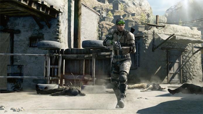 Splinter Cell Blacklist é um dos games da série em promoção (Foto: Divulgação/Ubisoft)
