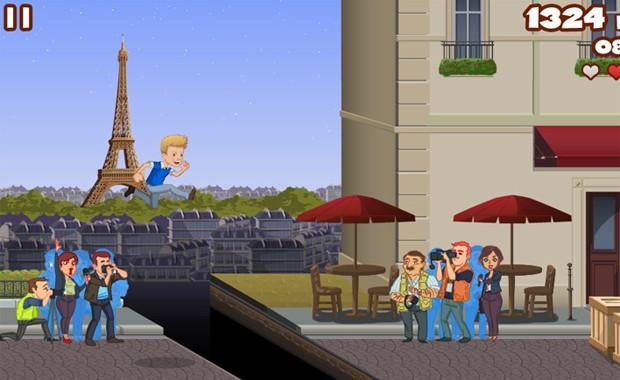 Avatar de Michel Teló em fase do seu jogo passada em Paris (Foto: Divulgação)