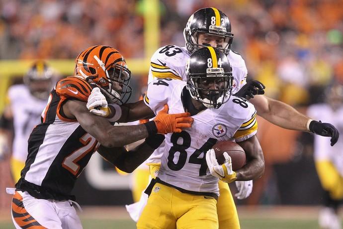 A rivalidade entre Steelers e Bengals deve dar o tom da AFC Norte esta temporada (Foto: Getty Images)