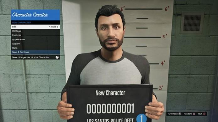 Crie um novo personagem ou importe-o do Xbox 360 e PlayStation 3 (Foto: VG247)