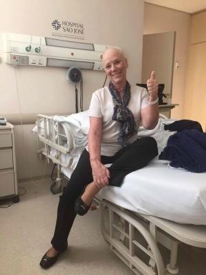 Com tipo raro de leucemia, Rose Sachetti recebeu a notícia de que há um doador de medula compatível (Foto: Reprodução/Facebook)