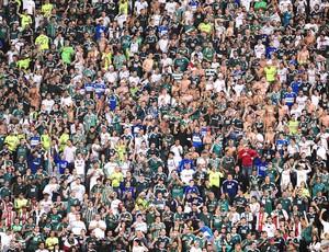 Torcida Palmeiras contra o Atlético-PR (Foto: Marcos Ribolli)