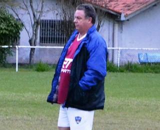 Alvaro Gaia técnico São José dos Campos FC (Foto: Felipe Kyoshy/GloboEsporte.com)