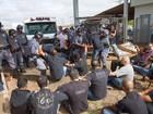 Greve de agentes penitenciários completa 2ª semana em Ribeirão, SP
