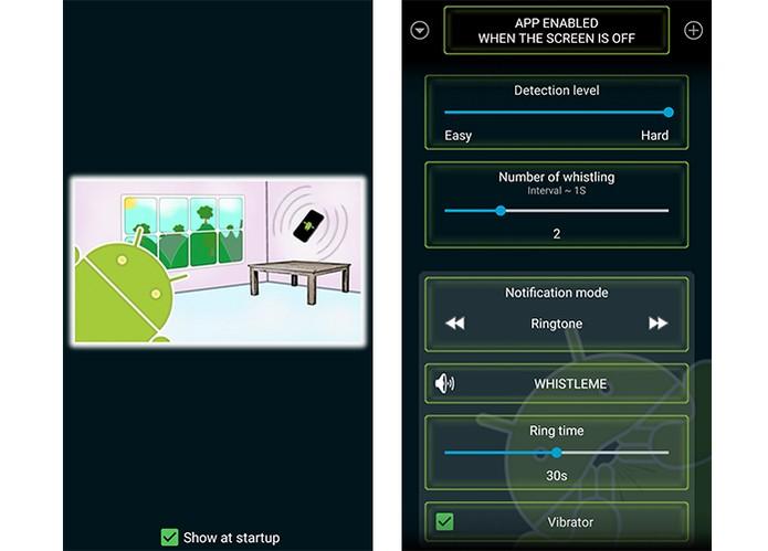 App permite encontrar o Android com apenas um assovio (Foto: Reprodução/Barbara Mannara)