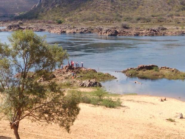 Local onde Domingos Montagner desapareceu (Foto: Ag News)