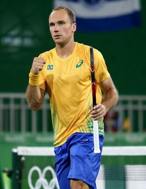 Bruno Soares Olimpíada Rio de Janeiro (Foto: Cristiano Andújar / CBT)