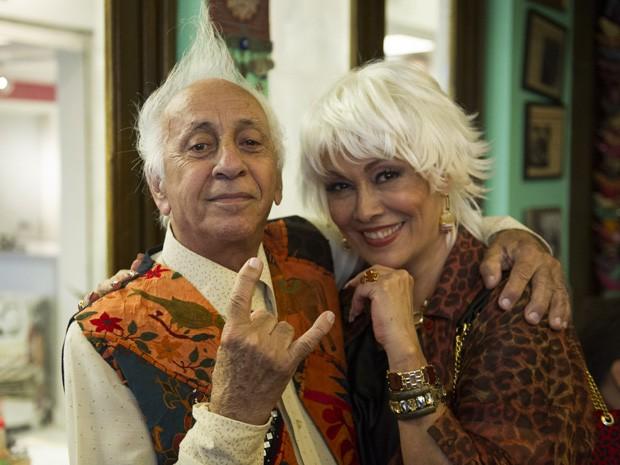 Chalita aparece também com novo penteado (Foto: Estevam Avellar/ TV Globo)