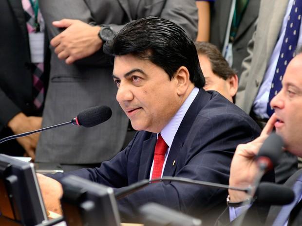 Deputado Manoel Júnior durante sessão na Câmara (Foto: Gustavo Lima/ Câmara dos Deputados)