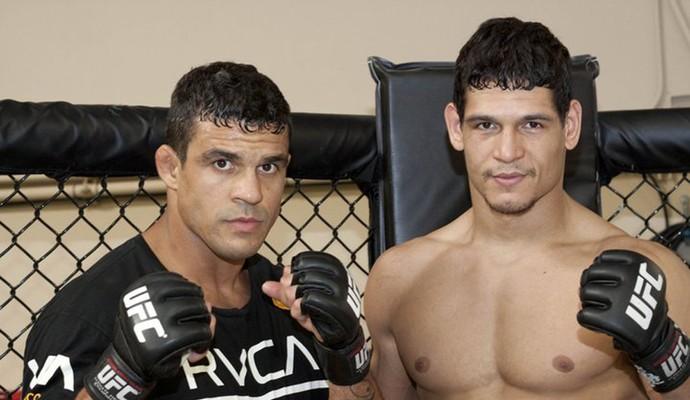 Cezar Mutante e Vitor Belfort MMA (Foto: Sara Levin / Divulgação)