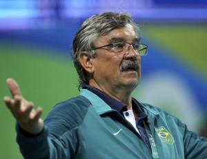 Ratko Rudic técnico da seleção Brasileira de Polo Aquático  (Foto: REUTERS/Laszlo Balogh)
