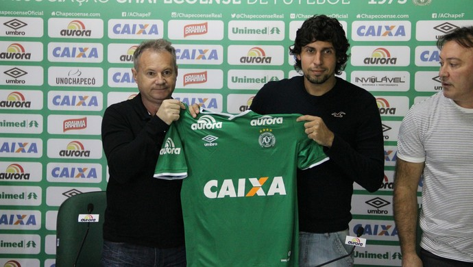 Enrique Meza Chapecoense (Foto: Cleberson Silva/Chapecoense)