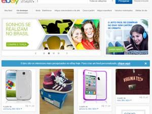 eBay ganha versão em português no Brasil (Foto: Reprodução/ebay.com)