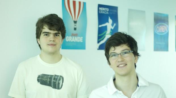 Pedro Franceschi e Henrique Dubugras, da Pagar.me (Foto: Divulgação)