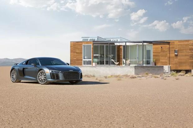 Casa no Airbnb onde você pode dirigir um Audi R8 (Foto: Divulgação)