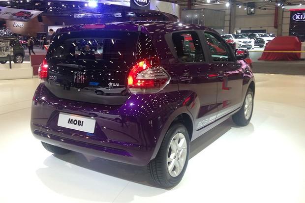 Fiat Mobi Drive no Salão do Automóvel 2016 (Foto: Julio Cabral/Autoesporte)
