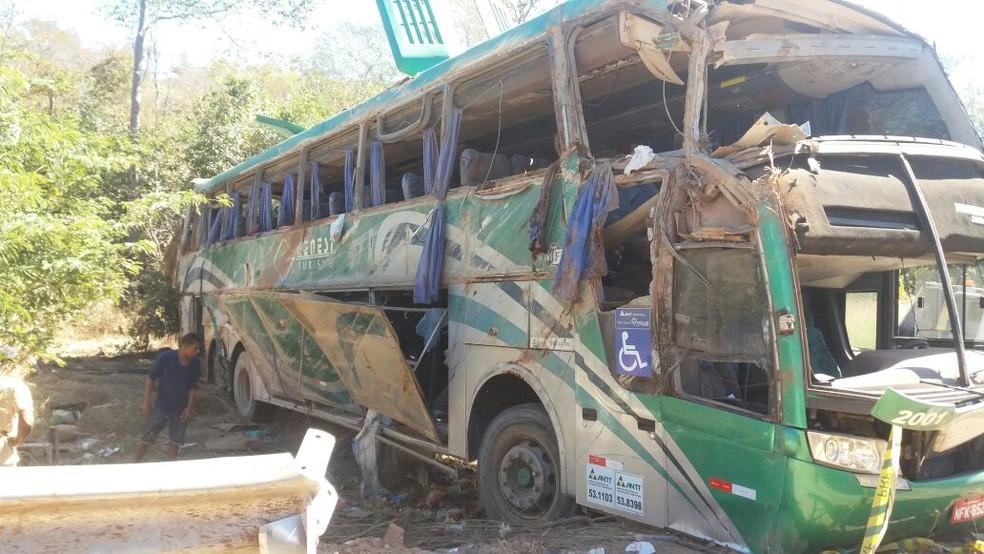 Tacógrafo do ônibus será periciado pela Polícia Civil (Foto: Divulgação/PRF)