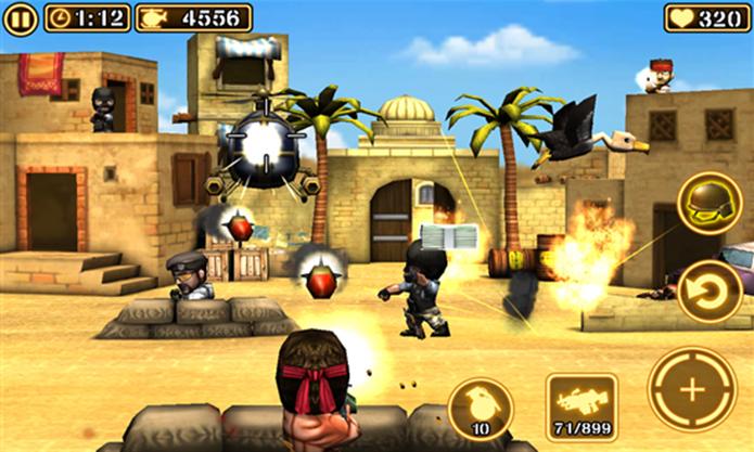 Gun Strike 2 é um jogo de tiro em terceira pessoa para Windows Phone com diversas missões (Foto: Divulgação/Windows Phone Store)