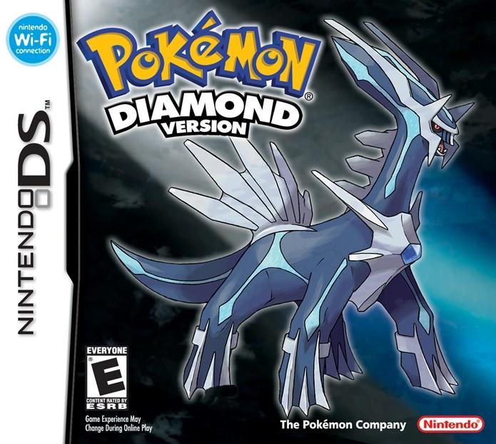 Pokémon Diamond marcou a chegada da quarta geração e a estreia da série no DS (Foto: Divulgação/Nintendo)