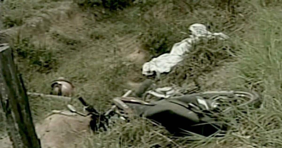 Motociclista morre e carona se fere em acidente na BR-381, no ES - Globo.com