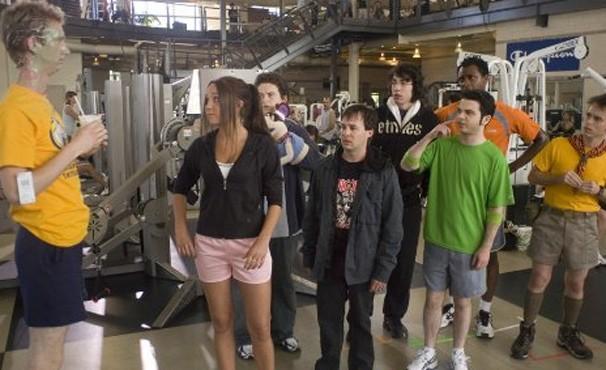 Sidney White (Amanda Bynes) e os sete nerds  (Foto: Divulgação / Reprodução)