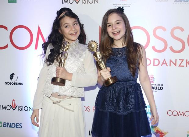 Sophia Valverde e Annalara Prates (Foto: Thiago Duran/AgNews)