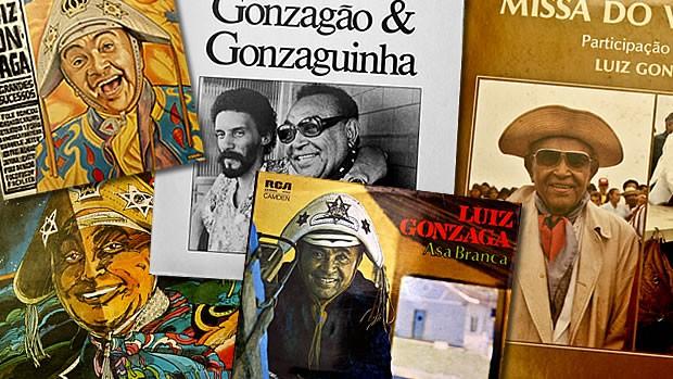 Discos de Luiz Gonzaga (Foto: divulgacao)