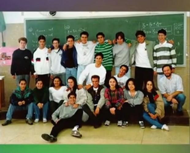 Foto de turma de 1997 (Foto: Arquivo Pessoal)