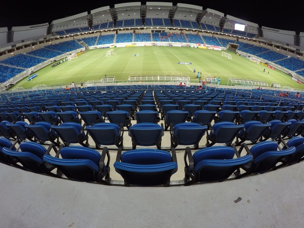 Arena das Dunas - TR (Foto: Fred Carvalho/GloboEsporte.com)