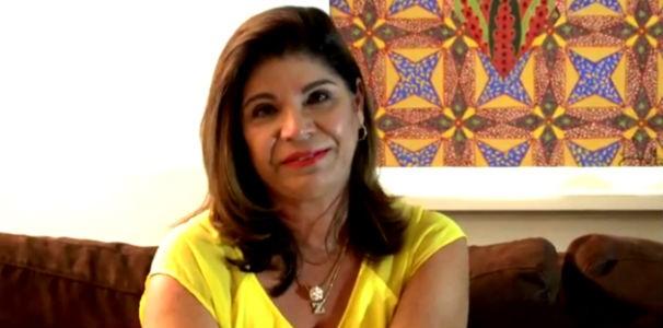 Zélia Cavalcanti fala sobre reportagens que marcaram sua carreira na TV Gazeta  (Foto: Reprodução/TV Gazeta)