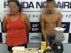 Trio é preso suspeito de tráfico de drogas na Zona Leste de Manaus