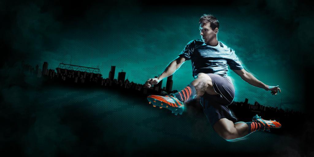 69435a4462 Lionel Messi em campanha promocional da chuteira da Adidas mirosar10 (Foto   Reprodução)