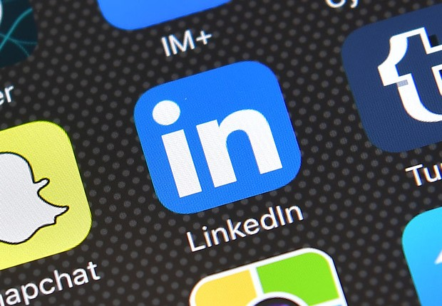 Aplicativo do LinkedIn (Foto: Carl Court/Getty Images)