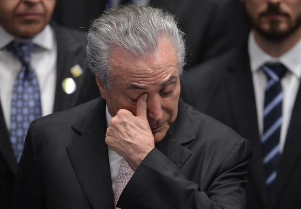 O presidente interino Michel Temer toma possa como novo presidente do Brasil (Foto: Fabio Rodrigues Pozzebom/Agência Brasil)